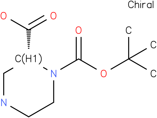 (R)-4-Boc-Piperazine-3-carboxylic acid