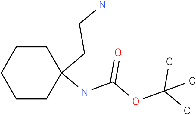 [1-(2-Amino-ethyl)-cyclohexyl]-carbamic acid tert-butyl ester