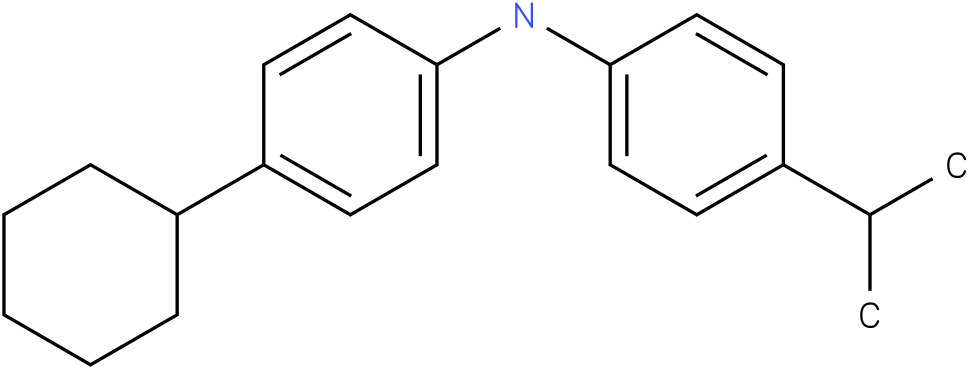 (4-Cyclohexyl-phenyl)-(4-isopropyl-phenyl)-amine