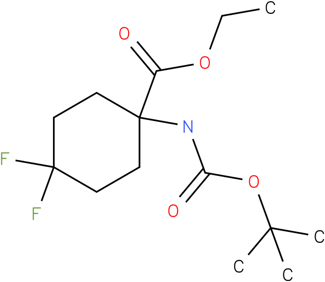 ethyl 1-(tert-butoxycarbonylamino)-4,4-difluorocyclohexanecarboxylate
