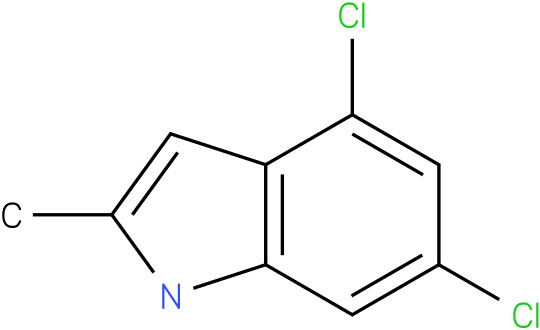 4,6-Dichloro-2-methylindole
