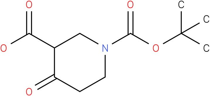 4-OXO-PIPERIDINE-1,3-DICARBOXYLIC ACID 1-TERT-BUTYL ESTER
