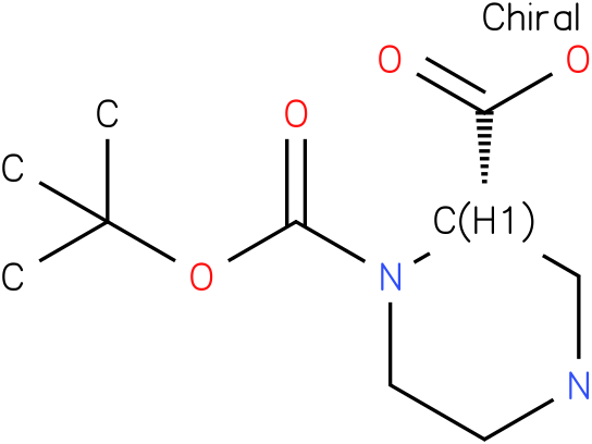 (S)-4-Boc-Piperazine-3-carboxylic acid