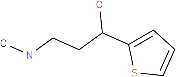 (S)-(-)-N -Methyl-3-hydroxy-3-(2-thienyl)propanamine