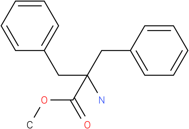 Methyl 2-amino-2-benzyl-3-phenylpropanoate