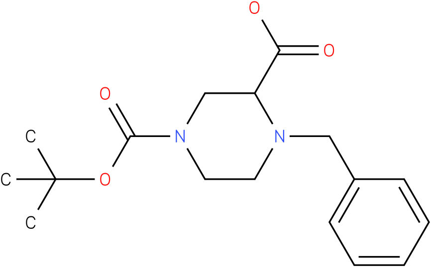1-Benzyl-4-Boc-piperazine-2-carboxylic acid