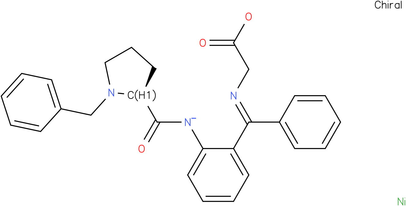 (s)-(o-(Nbenzylprolyl)amino)(phenyl)methyleneiminoacetate