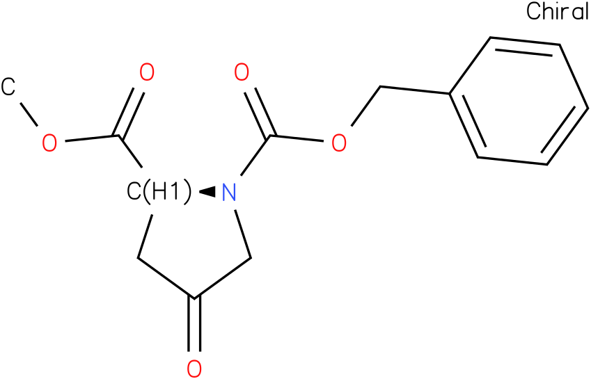 (S)-1-benzyl 2-methyl 4-oxopyrrolidine-1,2-dicarboxylate