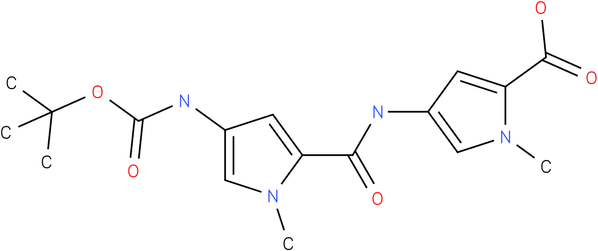 4-[(4-tert-butoxycarbonylamino-1-methyl-1H-pyrrole-2-carboxy