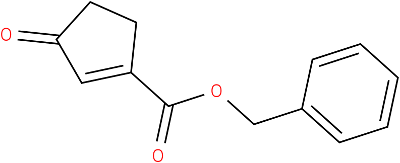benzyl 3-oxocyclopent-1-enecarboxylate