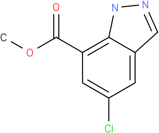 methyl 5-chloro-1H-indazole-7-carboxylate