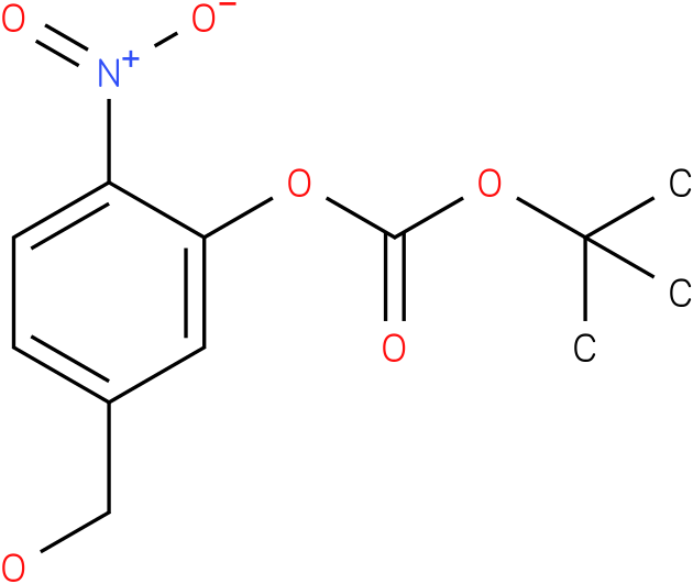 tert-butyl 5-(hydroxymethyl)-2-nitrophenyl carbonate