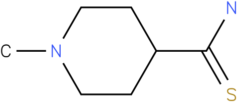 1-methylpiperidine-4-carbothioamide