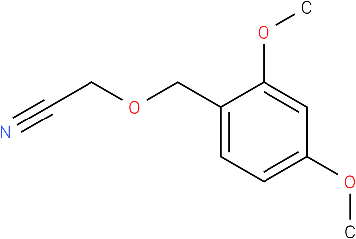 2-(2,4-dimethoxybenzyloxy)acetonitrile
