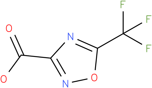 5-(trifluoromethyl)-1,2,4-oxadiazole-3-carboxylic acid