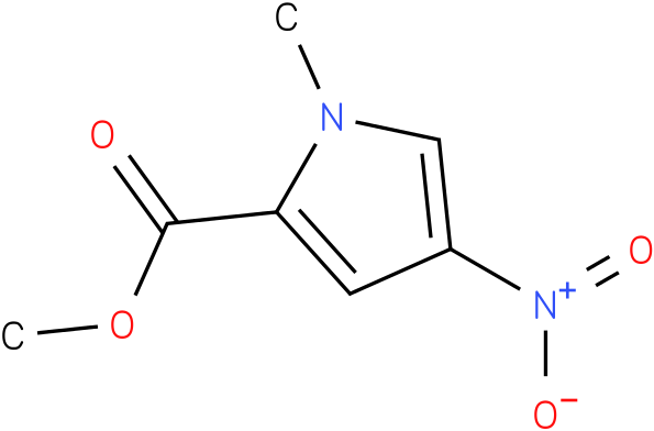 1-methyl-4-nitropyrrole-2-carboxylic acid methyl ester