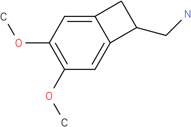 C-(3,4-DIMETHOXY-BICYCLO[4.2.0]OCTA-1(6),2,4-TRIEN-7-YL)-METHYLAMINE