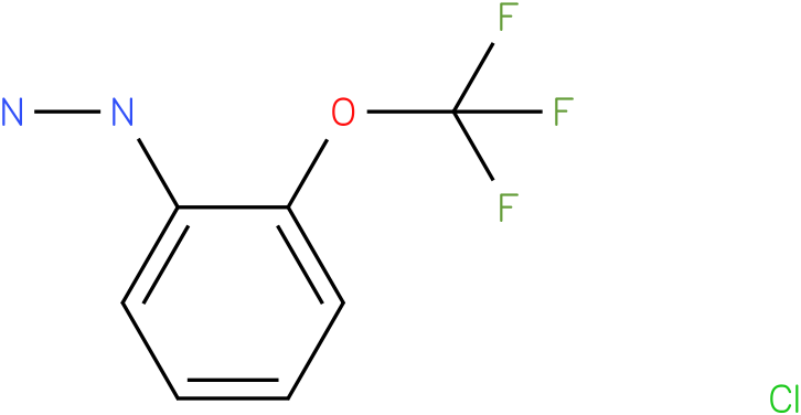 2-(trifluoromethoxy)phenylhydrazine hydrochloride