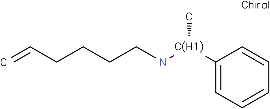 (R)-N-(1-phenylethyl)hex-5-en-1-amine