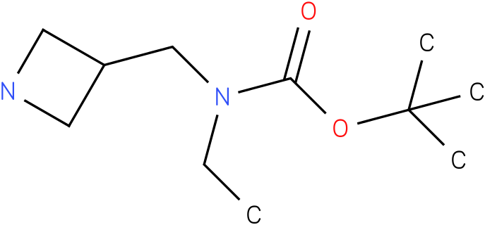 tert-butyl azetidin-3-ylmethyl(ethyl)carbamate