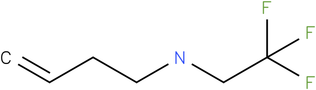 N-(2,2,2-trifluoroethyl)but-3-en-1-amine