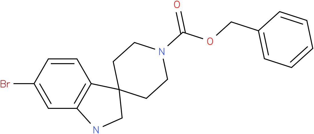 benzyl 6-bromospiro[indoline-3,4'-piperidine]-1'-carboxylate