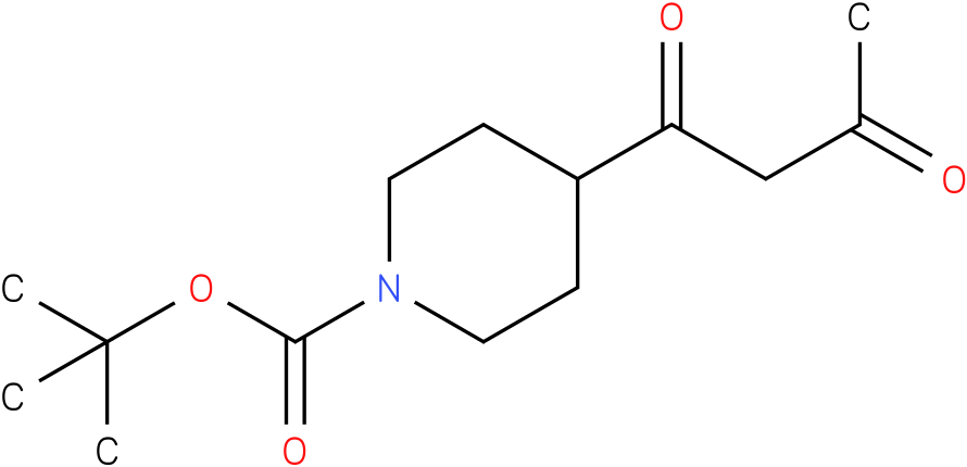 tert-butyl 4-(3-oxobutanoyl)piperidine-1-carboxylate