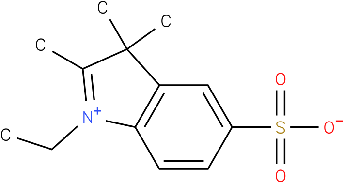 1-Ethyl-2,3,3-Trimethyl-Indoleninium-5-Sulfonate