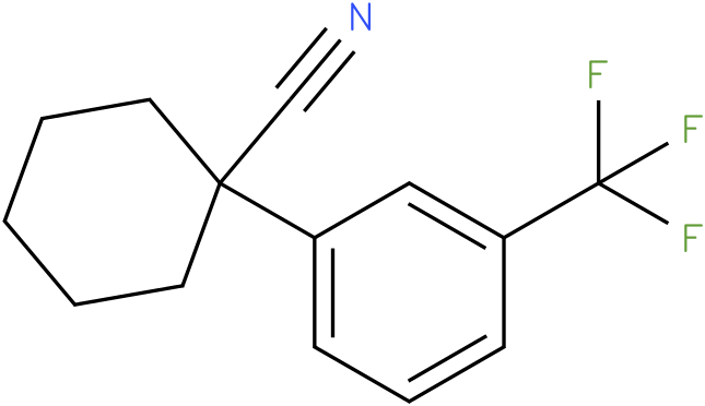 1-(3-(trifluoromethyl)phenyl)cyclohexanecarbonitrile