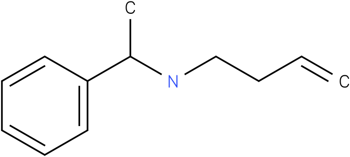 (S)-N-(1-phenylethyl)but-3-en-1-amine
