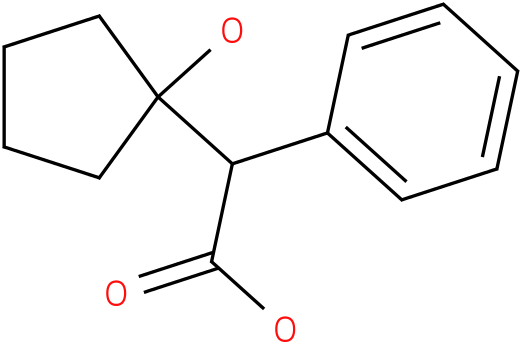 2-(1-HYDROXYCYCLOPENTYL)-2-PHENYLACETIC ACID