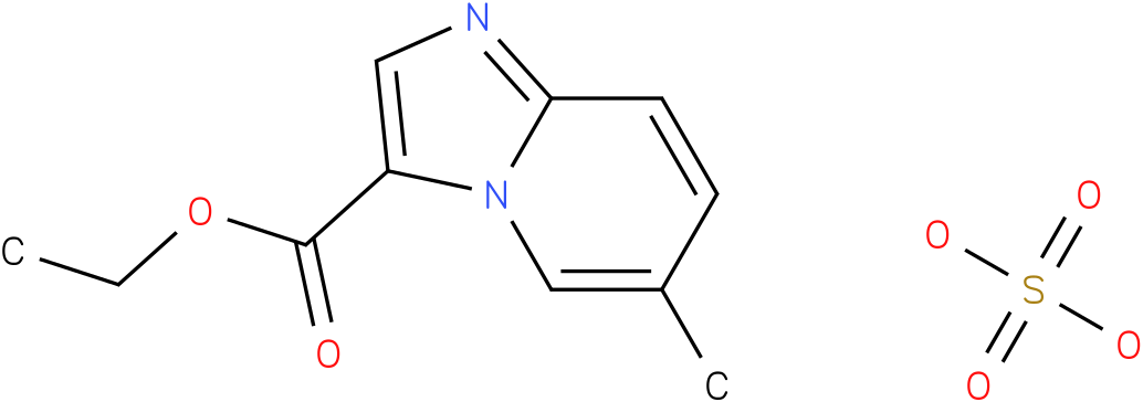 ethyl 6-methylimidazo[1,2-a]pyridine-3-carboxylate sulfate