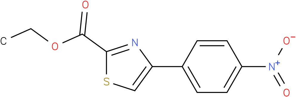 ETHYL 4-(4-NITROPHENYL)-1,3-THIAZOLE-2-CARBOXYLATE