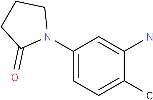 1-(3-AMINO-4-METHYLPHENYL)PYRROLIDIN-2-ONE