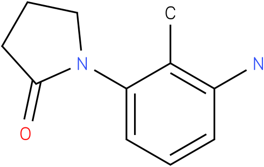 1-(3-AMINO-2-METHYLPHENYL)PYRROLIDIN-2-ONE