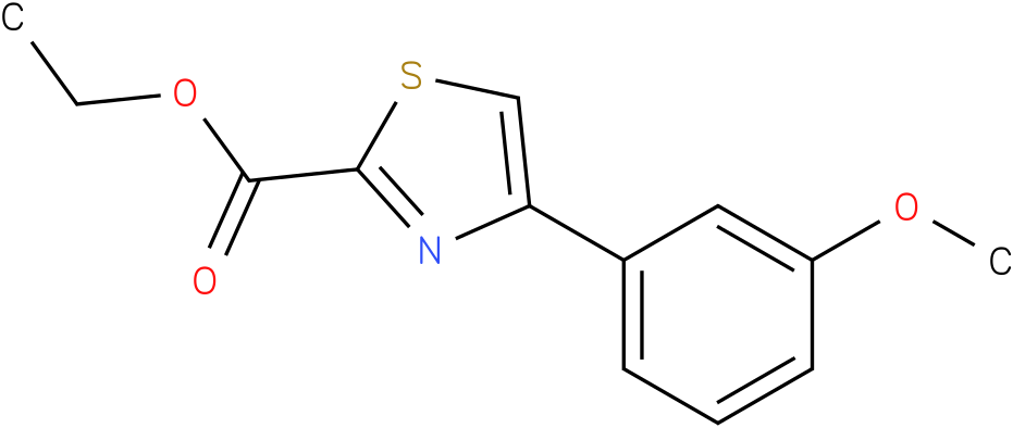 4-(3-METHOXY-PHENYL)-THIAZOLE-2-CARBOXYLIC ACID ETHYL ESTER