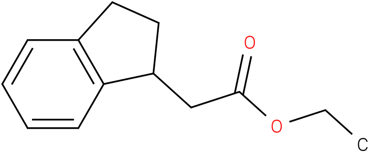 1H-INDENE-1-ACETIC ACID,2,3-DIHYDRO-,ETHYL ESTER