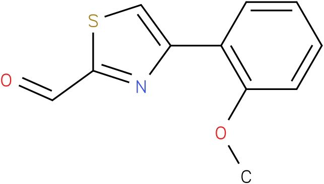 4-(2-METHOXYPHENYL)-1,3-THIAZOLE-2-CARBALDEHYDE