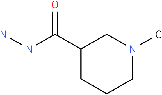 1-methylpiperidine-3-carbohydrazide