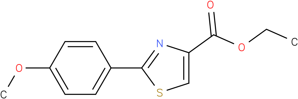 2-(4-METHOXY-PHENYL)-THIAZOLE-4-CARBOXYLIC ACID ETHYL ESTER