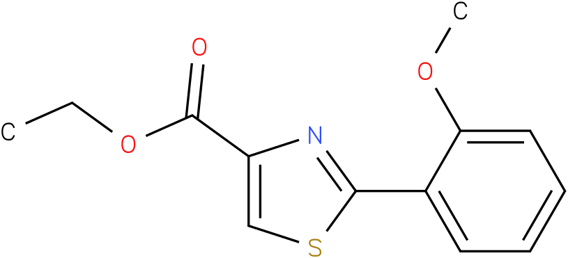 2-(2-METHOXY-PHENYL)-THIAZOLE-4-CARBOXYLIC ACID ETHYL ESTER