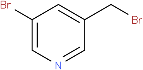 3-bromo-5-(bromomethyl)pyridine