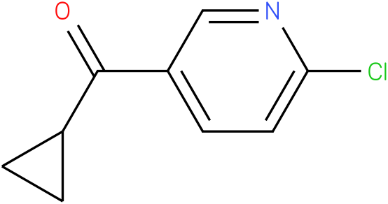 (6-chloropyridin-3-yl)(cyclopropyl)methanone