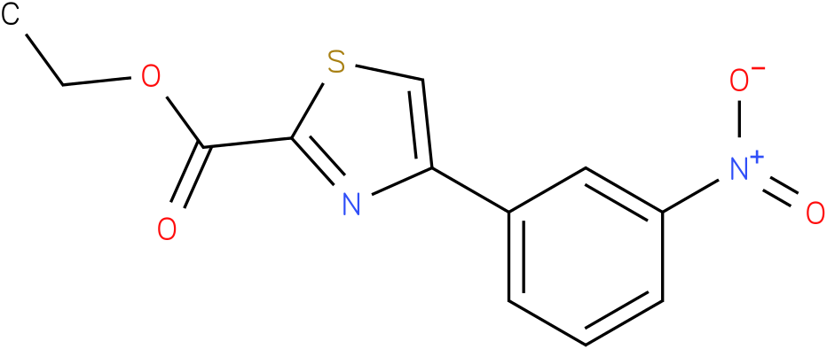 ETHYL 4-(3-NITROPHENYL)-1,3-THIAZOLE-2-CARBOXYLATE
