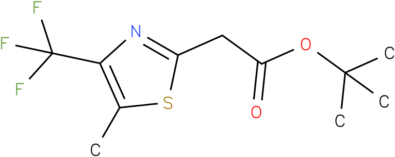tert-butyl 2-(5-methyl-4-(trifluoromethyl)thiazol-2-yl)acetate