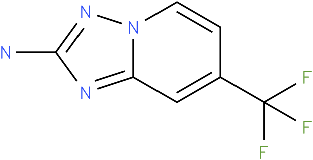 7-(trifluoromethyl)-[1,2,4]triazolo[1,5-a]pyridin-2-amine