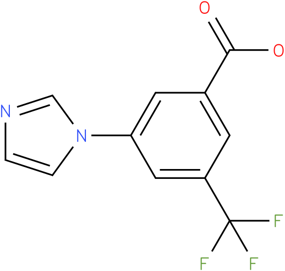 3-(1H-IMIDAZOL-1-YL)-5-(TRIFLUOROMETHYL)BENZOIC ACID