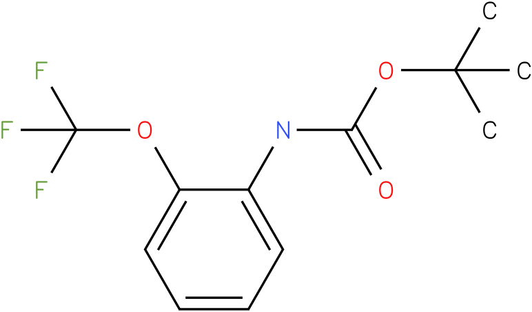 [2-(TRILUOROMETHOXY)PHENYL]-CARBAMIC ACID,1,1-DIMETHYL ETHYL ESTER