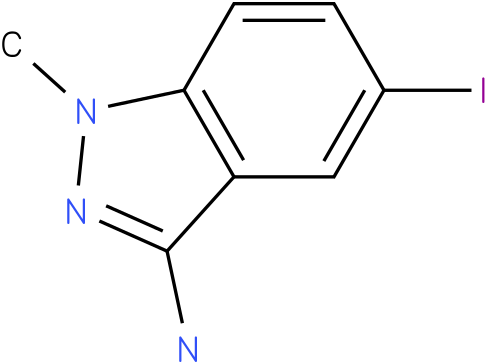 5-iodo-1-methyl-1H-indazol-3-amine