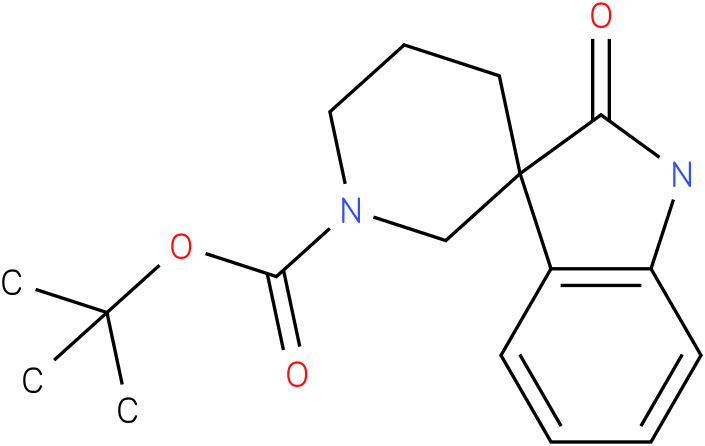 tert-butyl 2-oxospiro[indoline-3,3'-piperidine]-1'-carboxylate